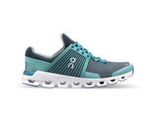 Pantofi alergare dama On Cloudswift Teal Storm