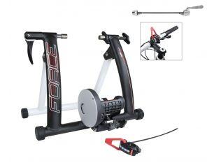 Trainer Force Magnetic 650W Aluminiu Black Mat