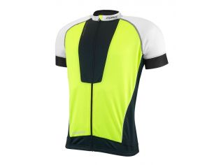 Tricou Ciclism Force Air Black/White/Fluo