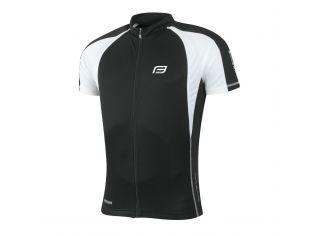 Tricou Ciclism Force T10 Black/White
