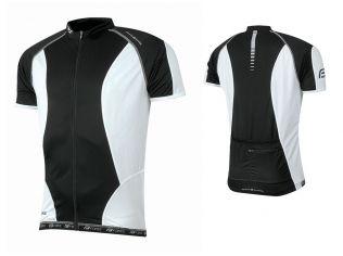 Tricou Ciclism Force T12 Black/White