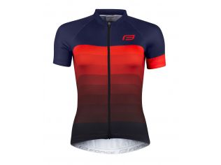 Tricou Force F Ascent Lady Blue-Red