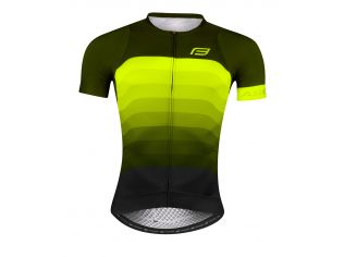 Tricou Force F Ascent Green - Gwhiteen Fluo
