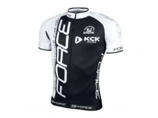 Tricou Force Team Maneci Scurte Black/White