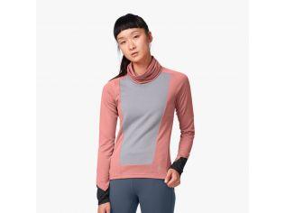 Bluza dama On Weather shirt dustrose fosil
