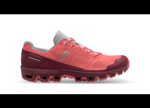 Pantofi alergare dama On Cloudventure Coral Mulberry